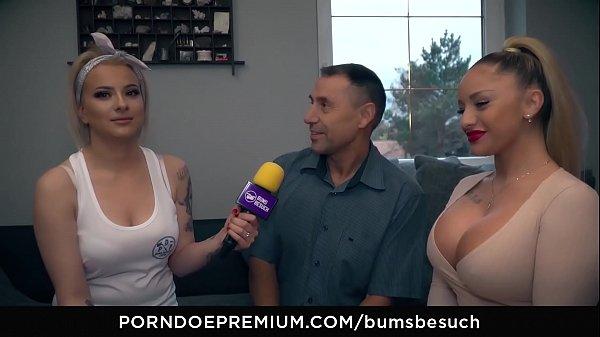 Busty German Pornstars likes to Fuck Fanboy
