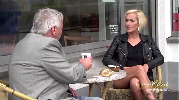 German Skinny Milf got Fucked by a Stranger