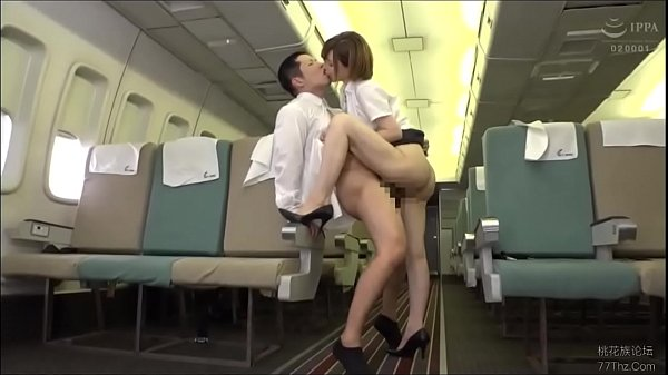 Hot Japanese Babe Koizumi Aya Fucked in Airplane