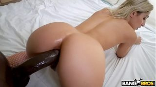 Abella Danger take Big Black Cock in Ass like real anal Queen