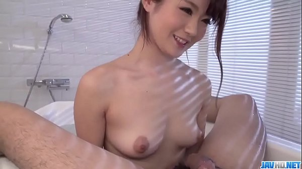 Freaky Japan Babe provides pleasure in the bathroom xxx video