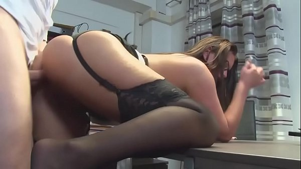 Horny German Secretary Bannged Doggy Style on the Office Desk german tube