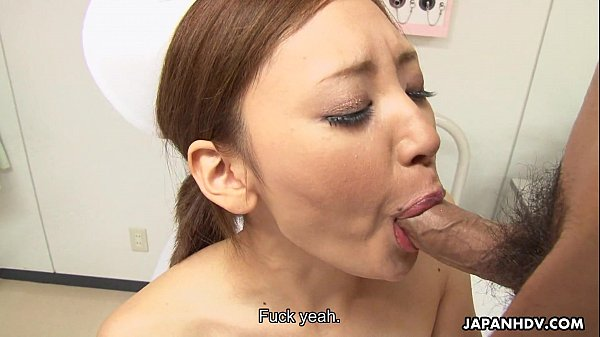 Asian nurse getting her wet pussy handled right
