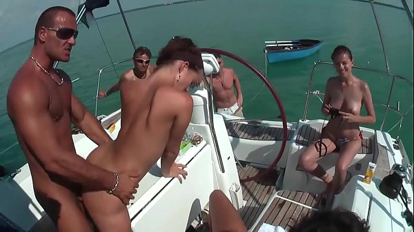 Mega Sex German Party on the Boat xxx video