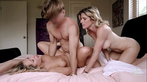 XNX Video Escort Documentary of Threesome sex for a Busty Milf